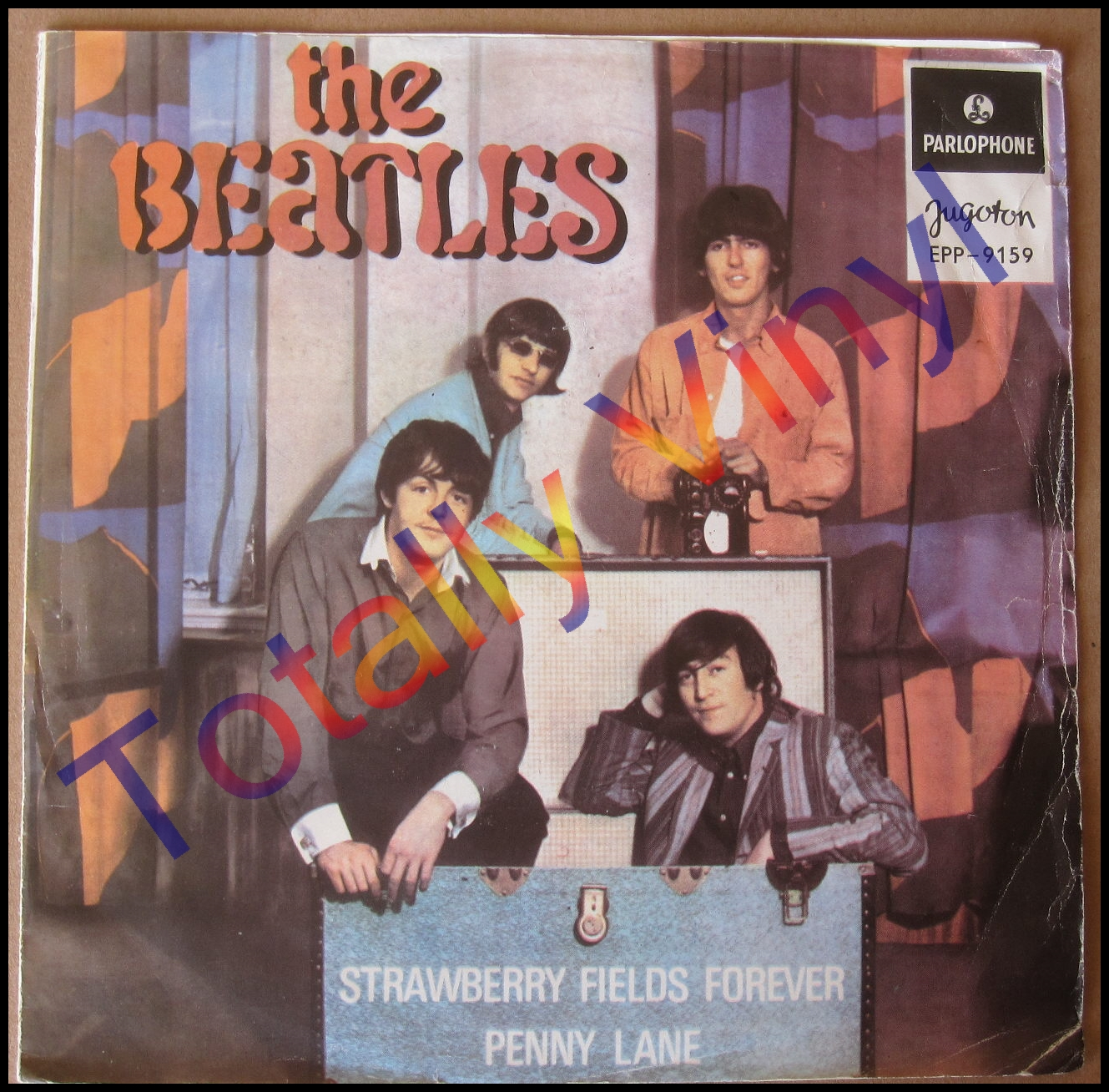 Totally Vinyl Records Beatles The Strawberry Fields