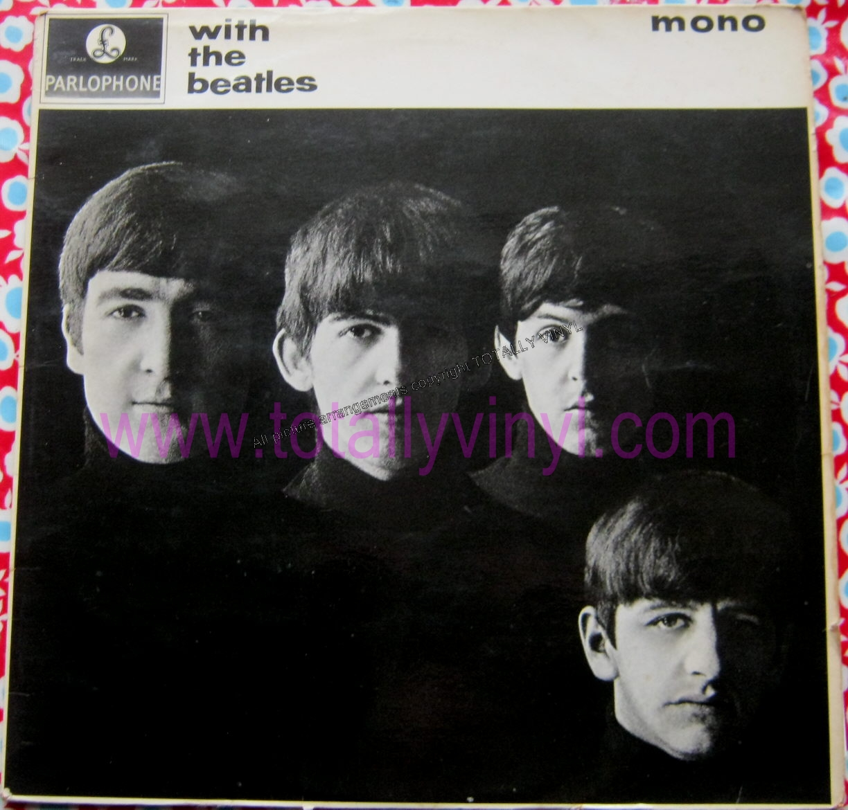 Totally Vinyl Records Beatles The With The Beatles Lp