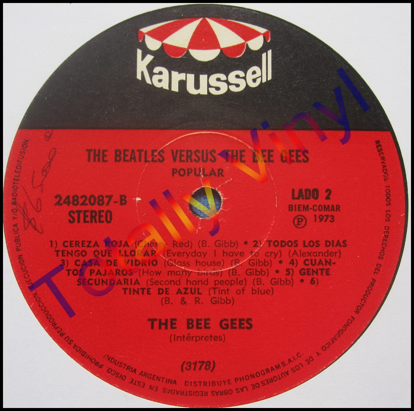 Totally Vinyl Records Beatles Amp The Bee Gees The The