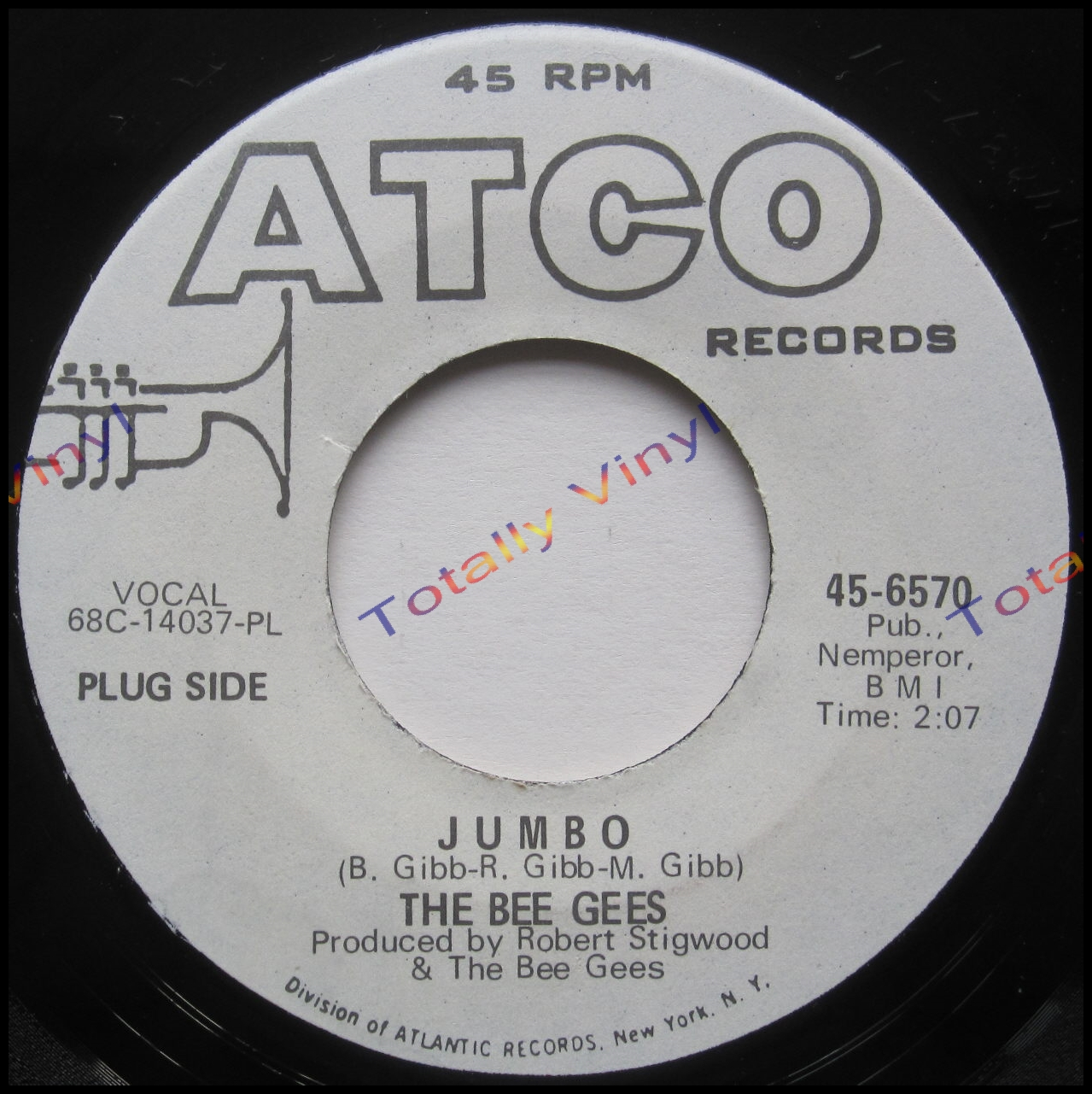 Totally Vinyl Records Bee Gees The Jumbo The