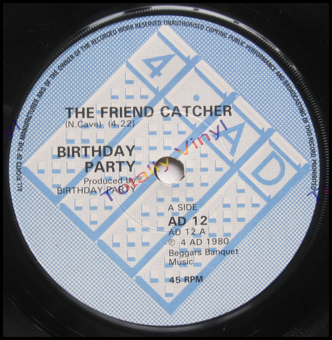Totally Vinyl Records Birthday Party The The Friend