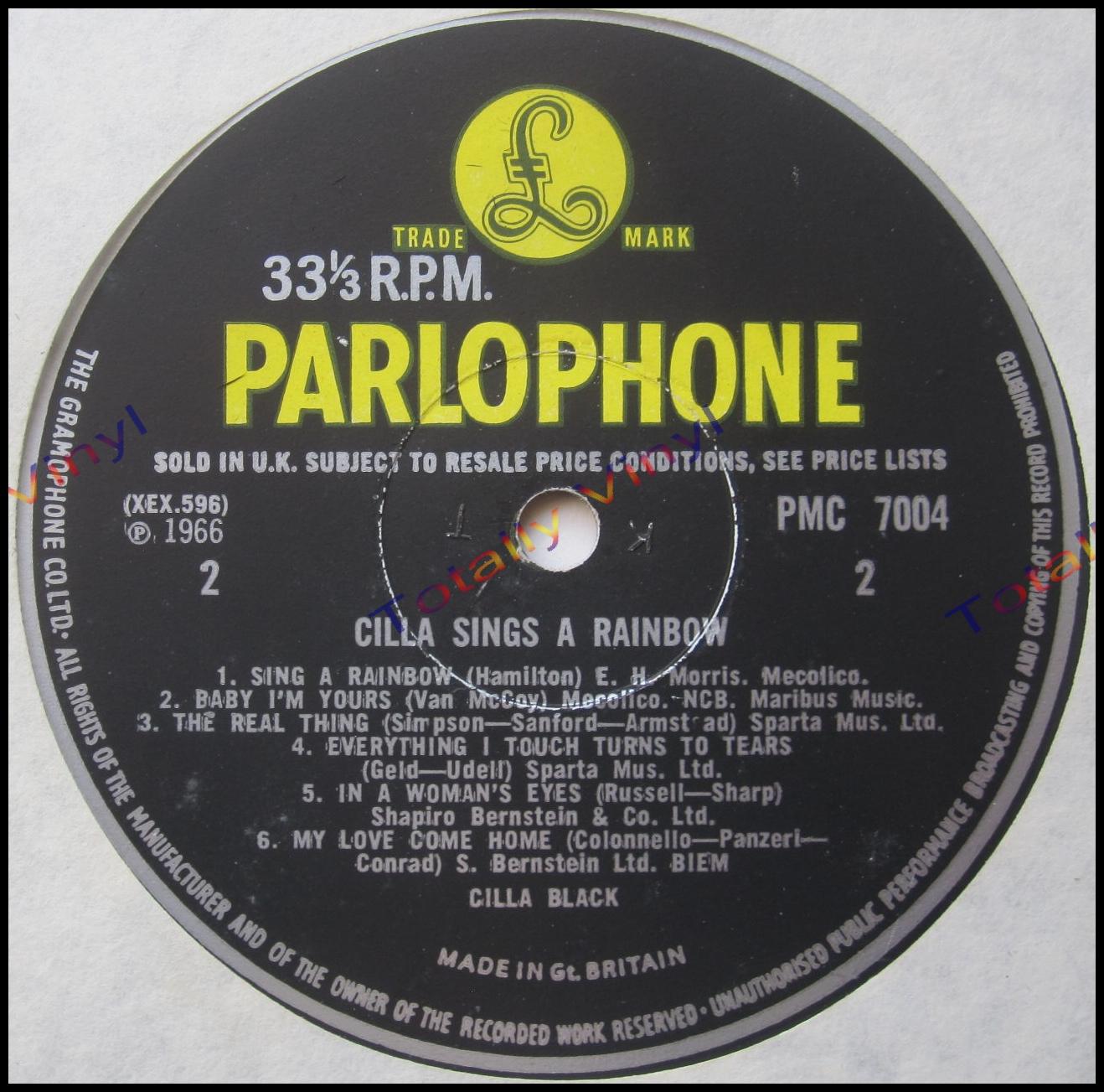 totally vinyl records black cilla cilla sings a rainbow lp