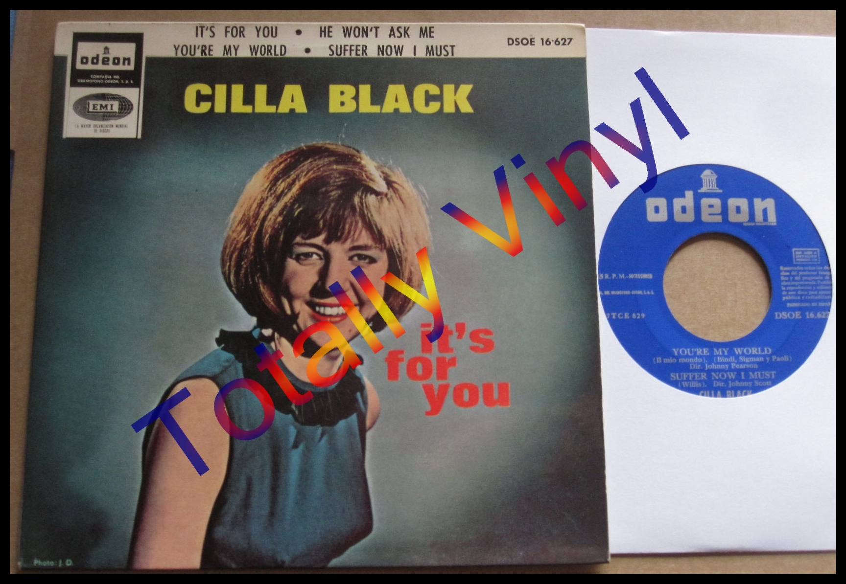Black, Cilla - EP: It's For You