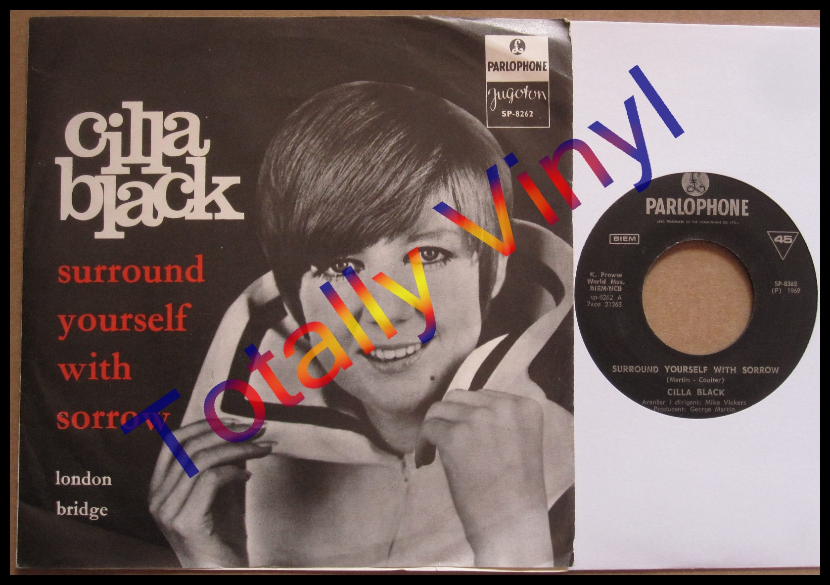 Totally Vinyl Records Black Cilla Surround Yourself