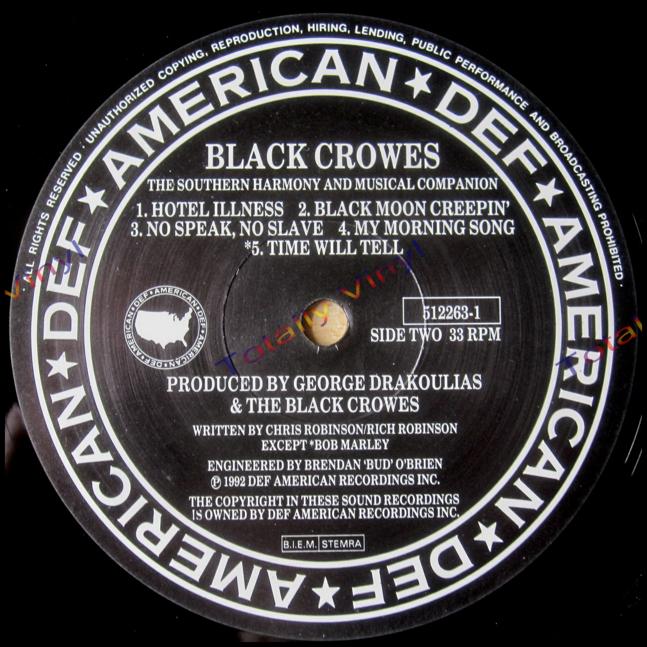 Totally Vinyl Records Black Crowes The The Southern