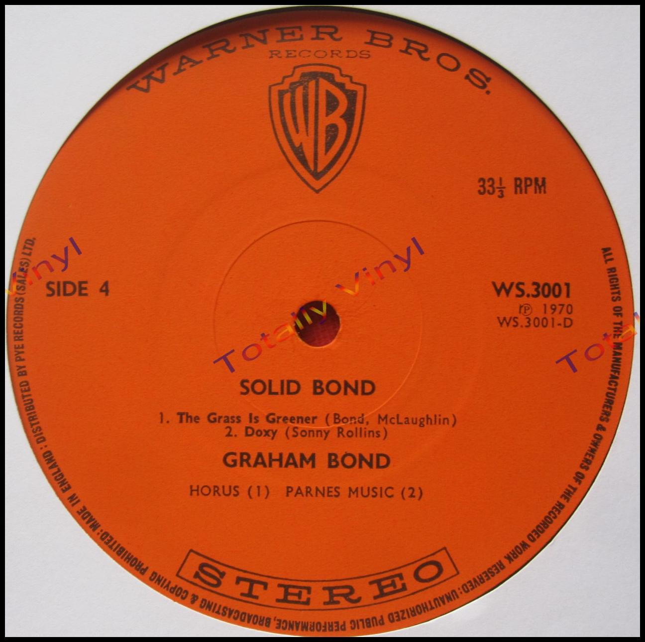 Graham Bond Solid Bond
