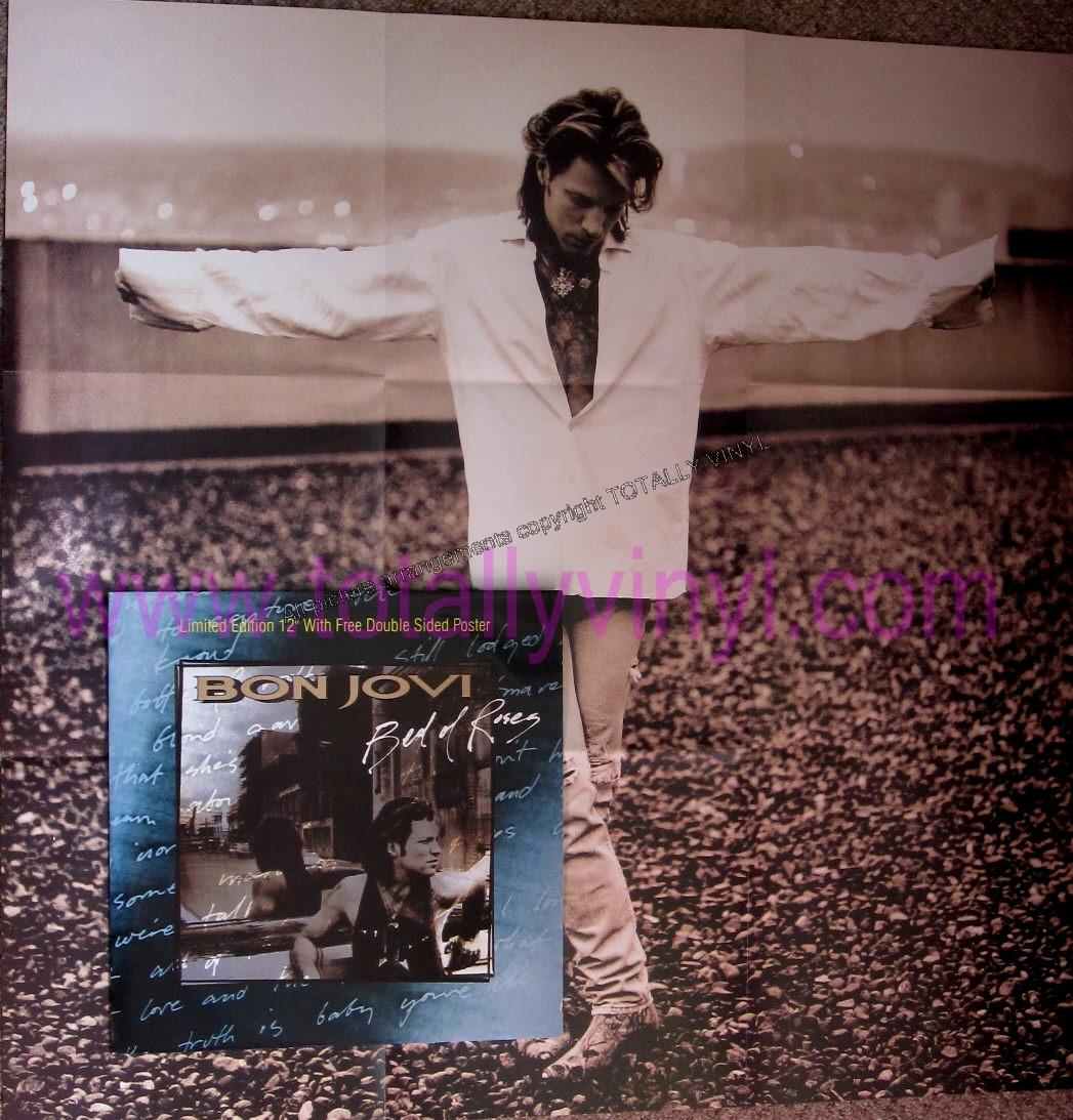 Totally Vinyl Records Bon Jovi Bed Of Roses 12 Inch