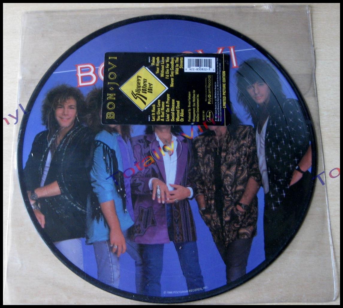 Totally Vinyl Records || Bon Jovi - Slippery when wet LP ...