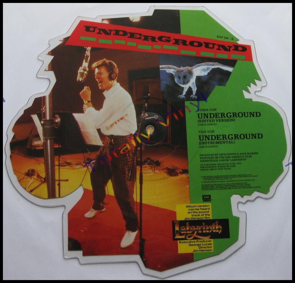 Totally Vinyl Records || Bowie, David - Underground (edited