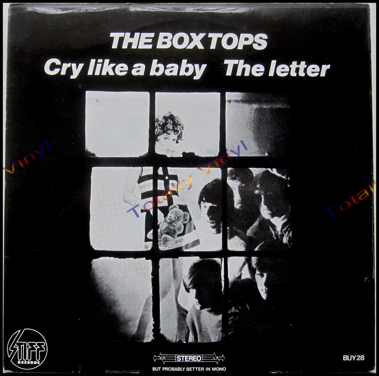 Totally Vinyl Records Box Tops The Cry Like A Baby