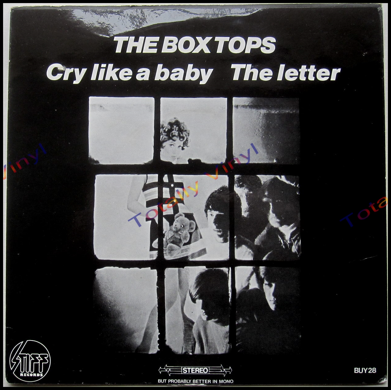 Totally Vinyl Records Box Tops The Cry like a baby The