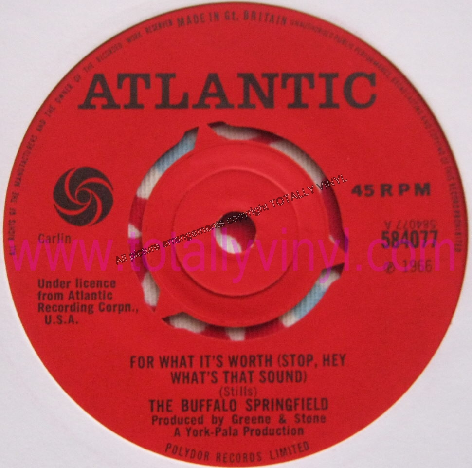 Totally Vinyl Records Buffalo Springfield The For