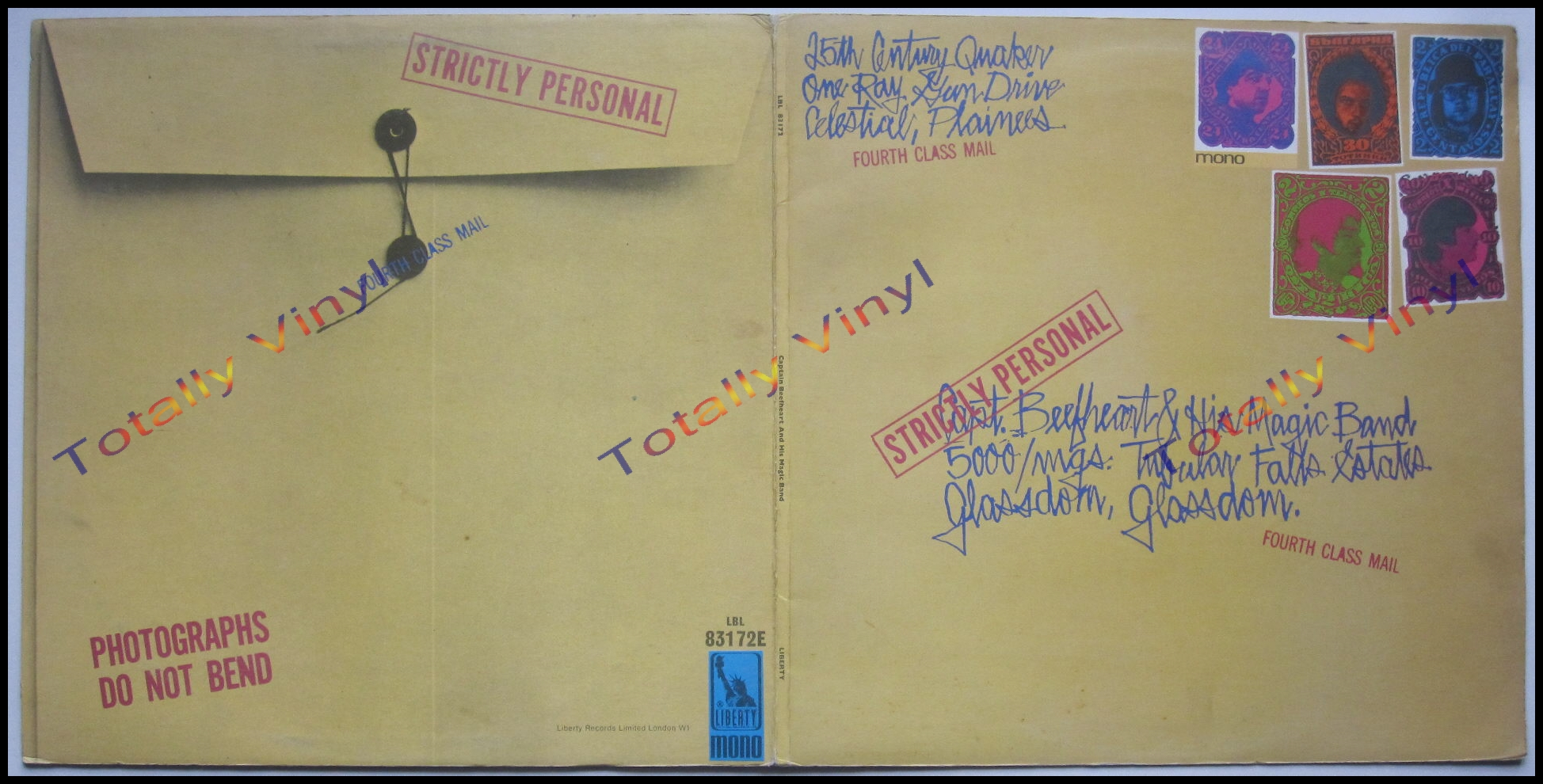 Totally Vinyl Records Captain Beefheart And His Magic