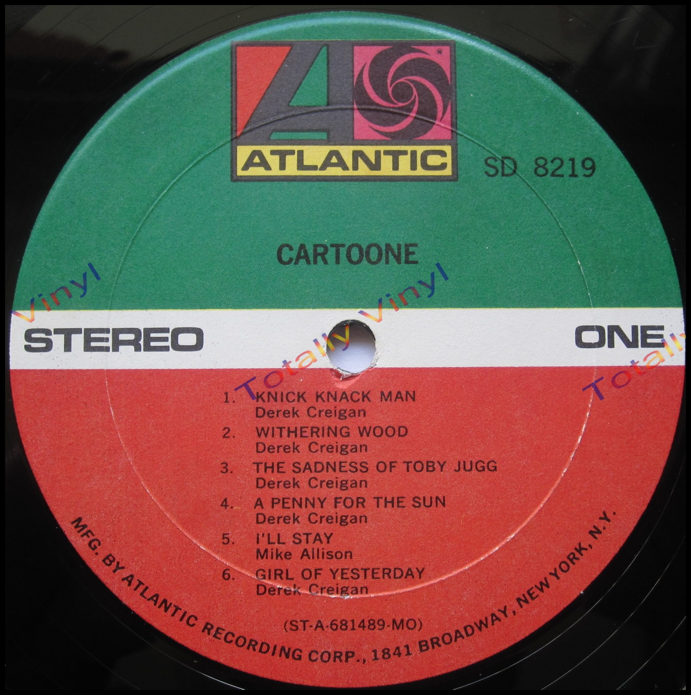 Totally Vinyl Records Cartoone Cartoone Lp