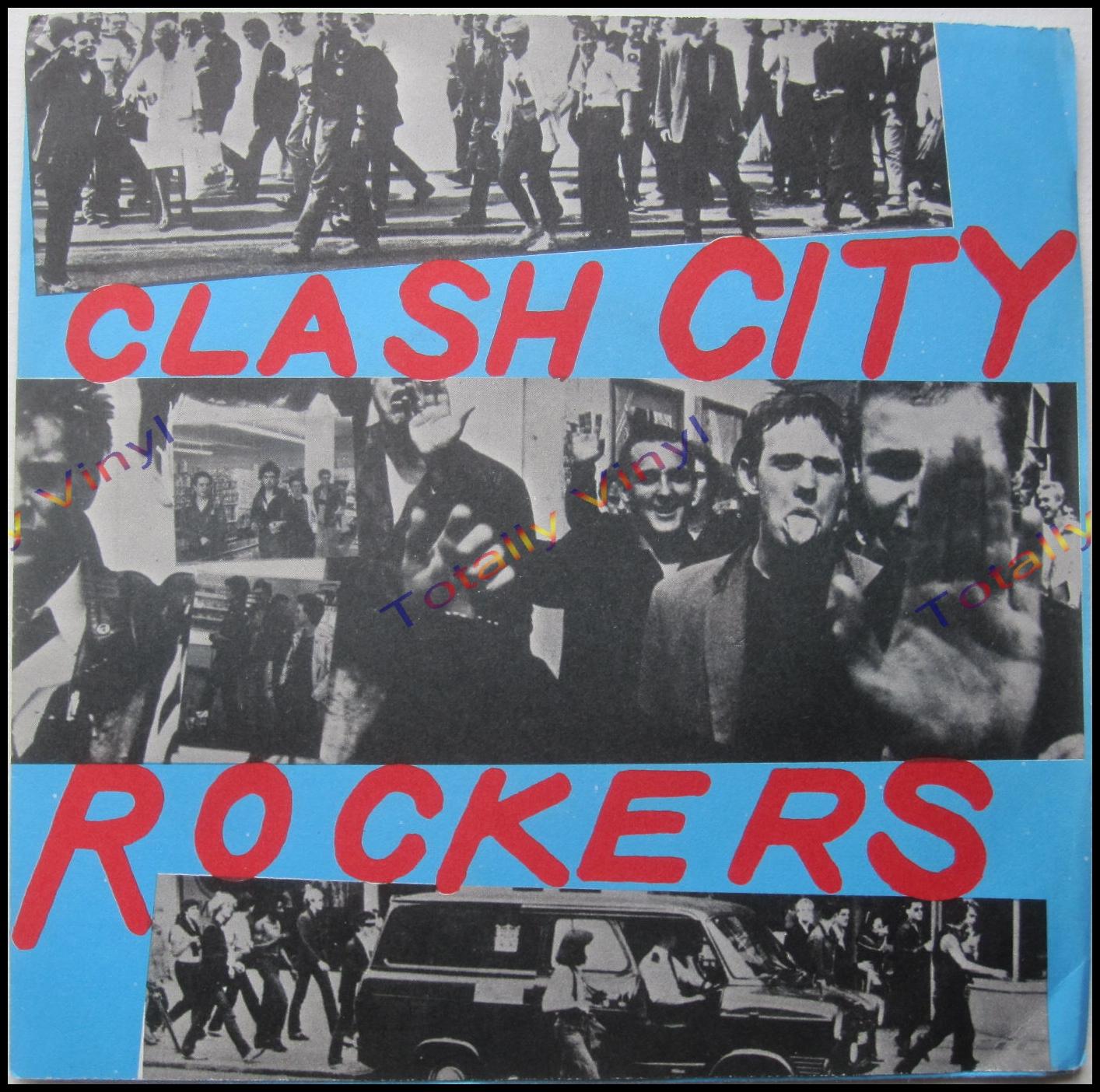 Totally Vinyl Records Clash The Clash City Rockers