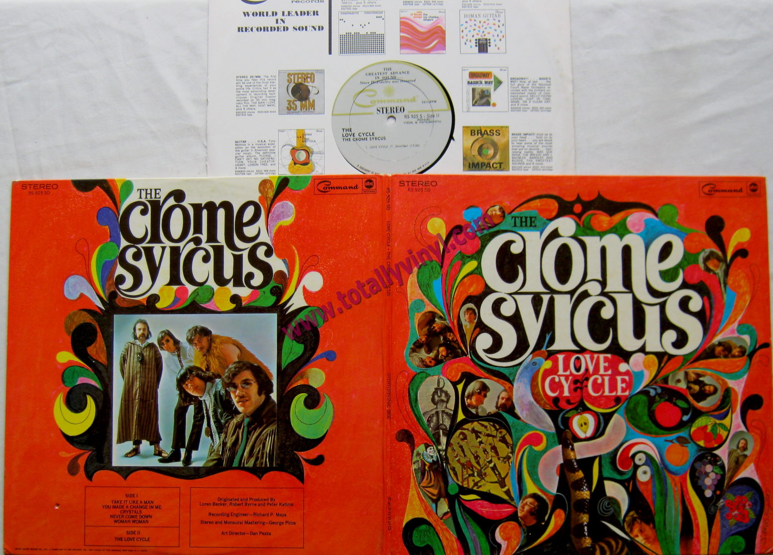 Totally Vinyl Records Crome Syrcus The Love Cycle Lp Vinyl