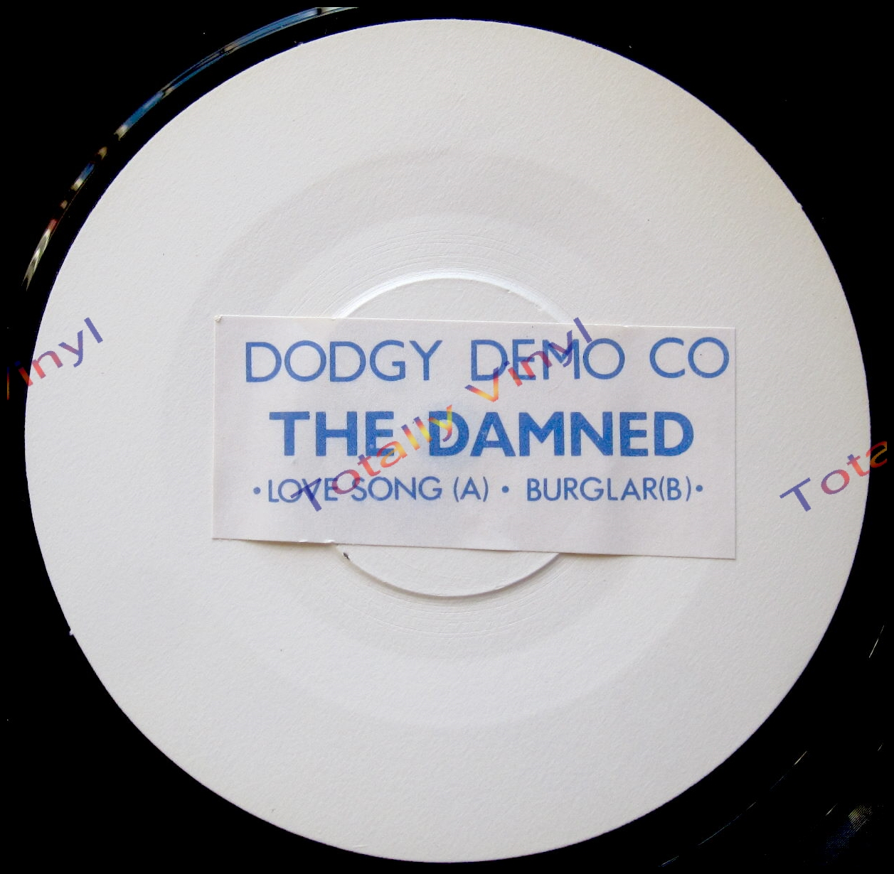 Totally Vinyl Records Damned The Love Song Burglar