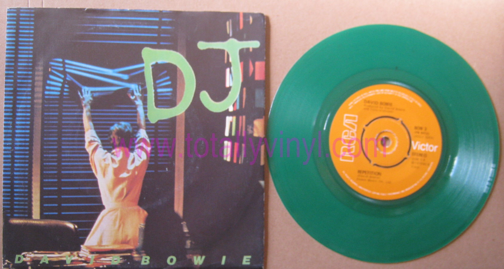 Totally Vinyl Records    Bowie, David - DJ 7 Inch Coloured
