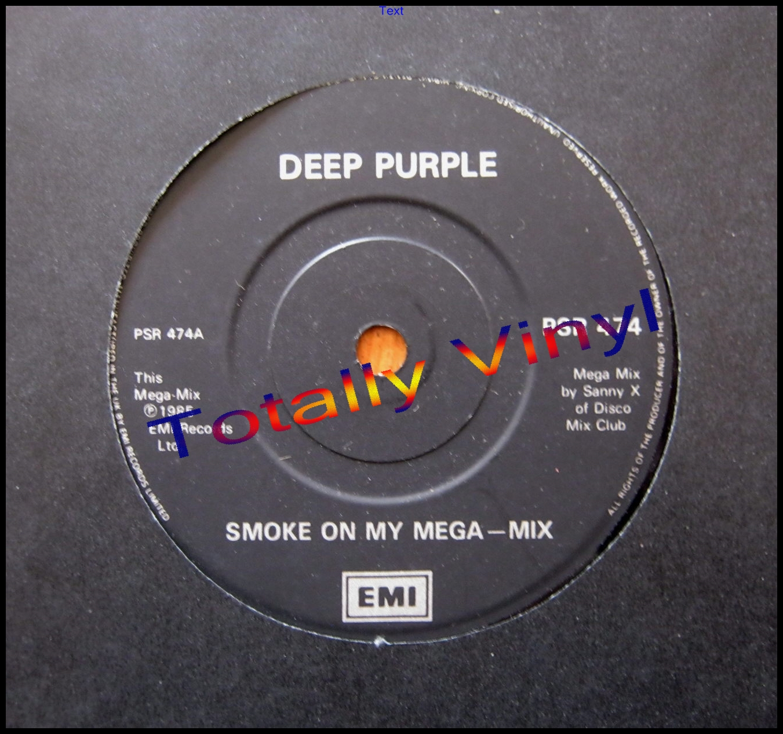 Totally Vinyl Records Deep Purple Smoke On My Mega