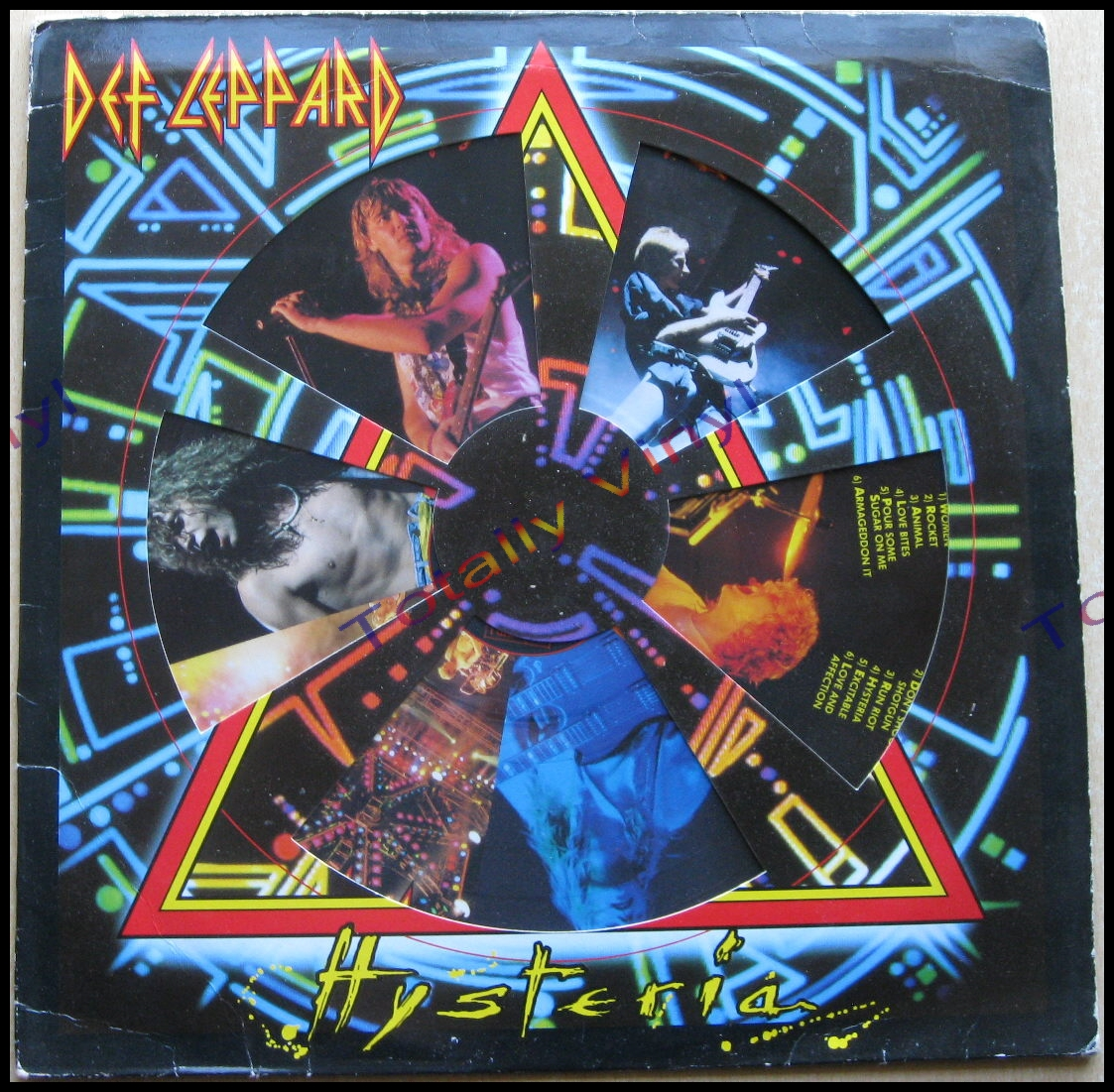 Totally Vinyl Records || Def Leppard - Hysteria LP Picture Disc