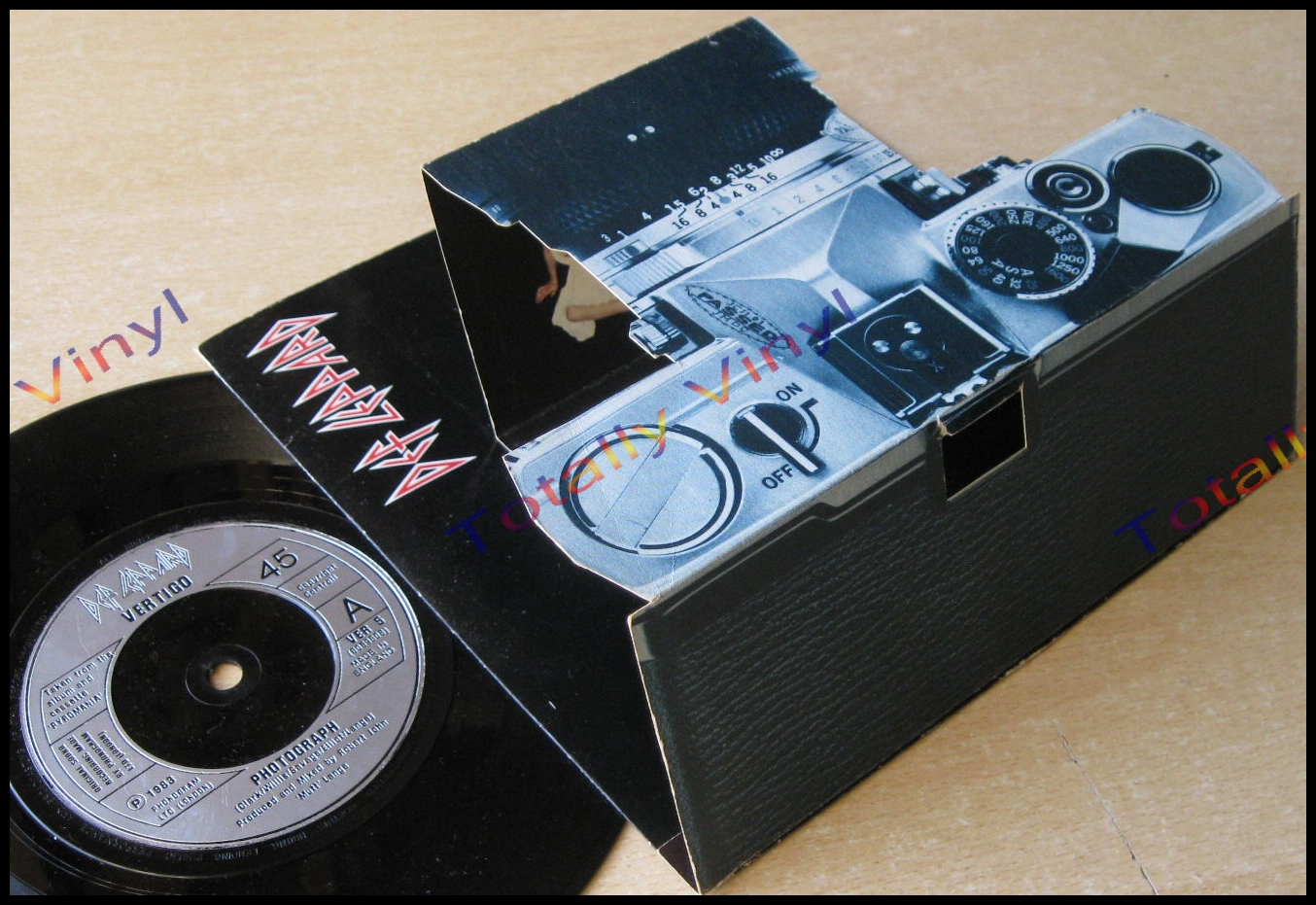 Totally Vinyl Records || Def Leppard - Photograph / Bringing on the