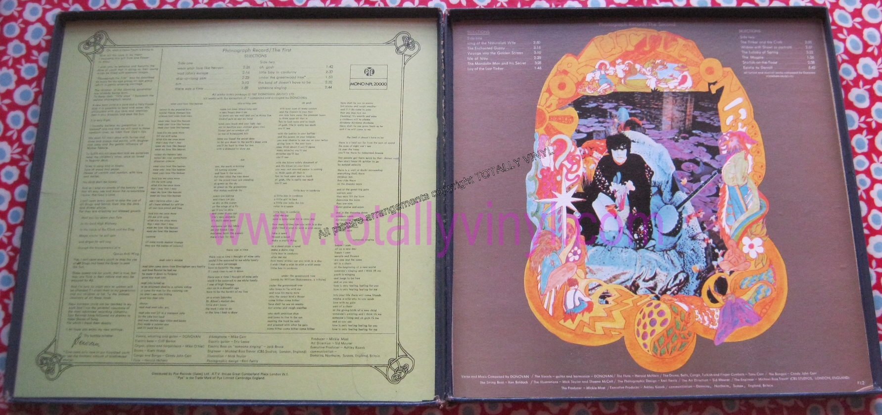 Totally Vinyl Records || Donovan - A gift from a flower to a ...