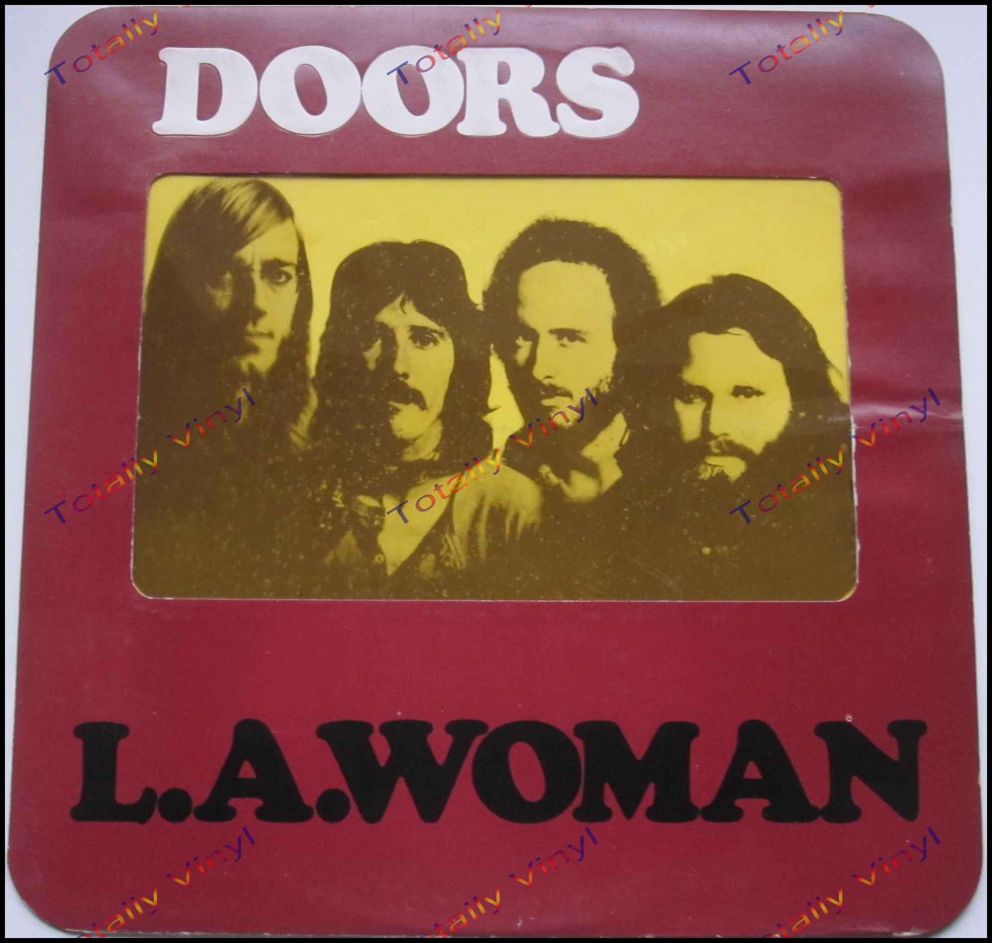 View Item ...  sc 1 st  Totally Vinyl & Totally Vinyl Records || Doors The - L A woman LP Special Cover