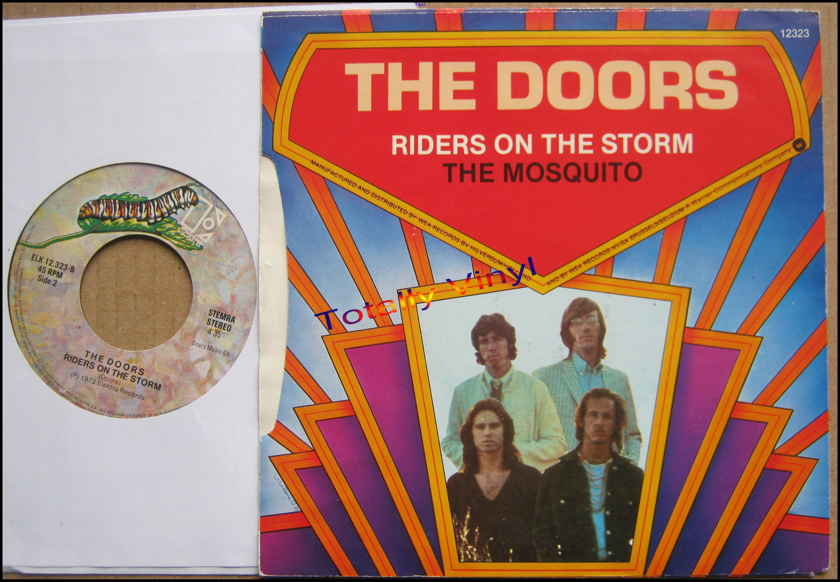 Totally Vinyl Records Doors The The Mosquitoriders On The