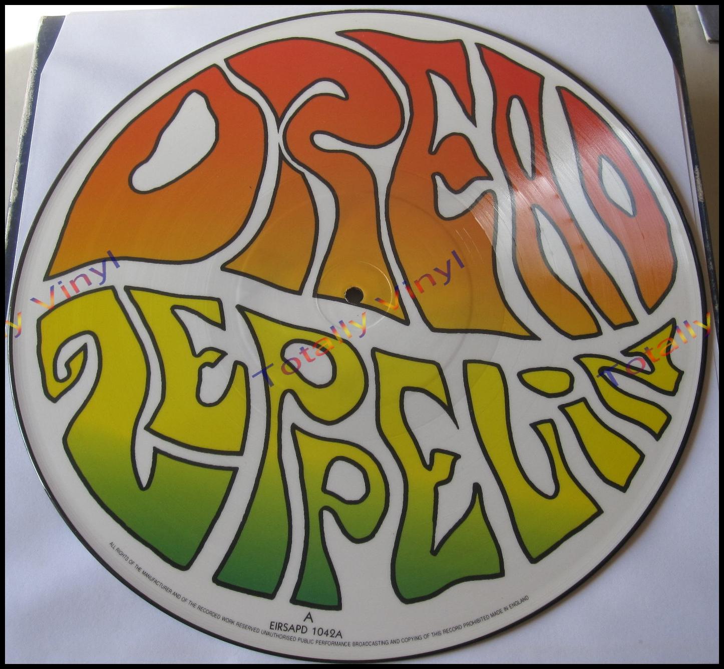 Totally Vinyl Records Dread Zeppelin Un Led Ed 12