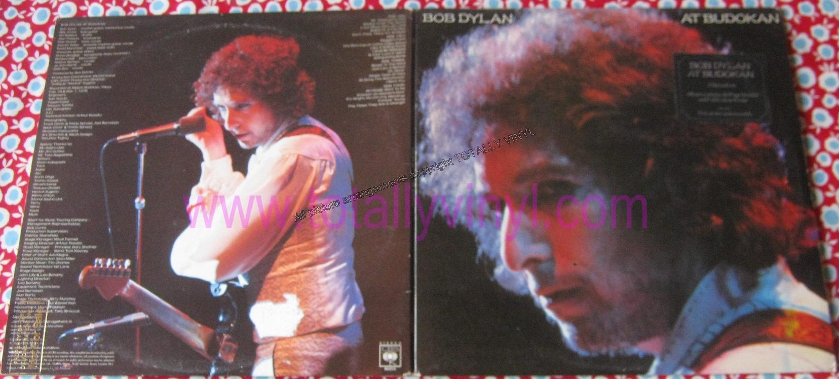 Totally Vinyl Records Dylan Bob At Budokan Lp Poster