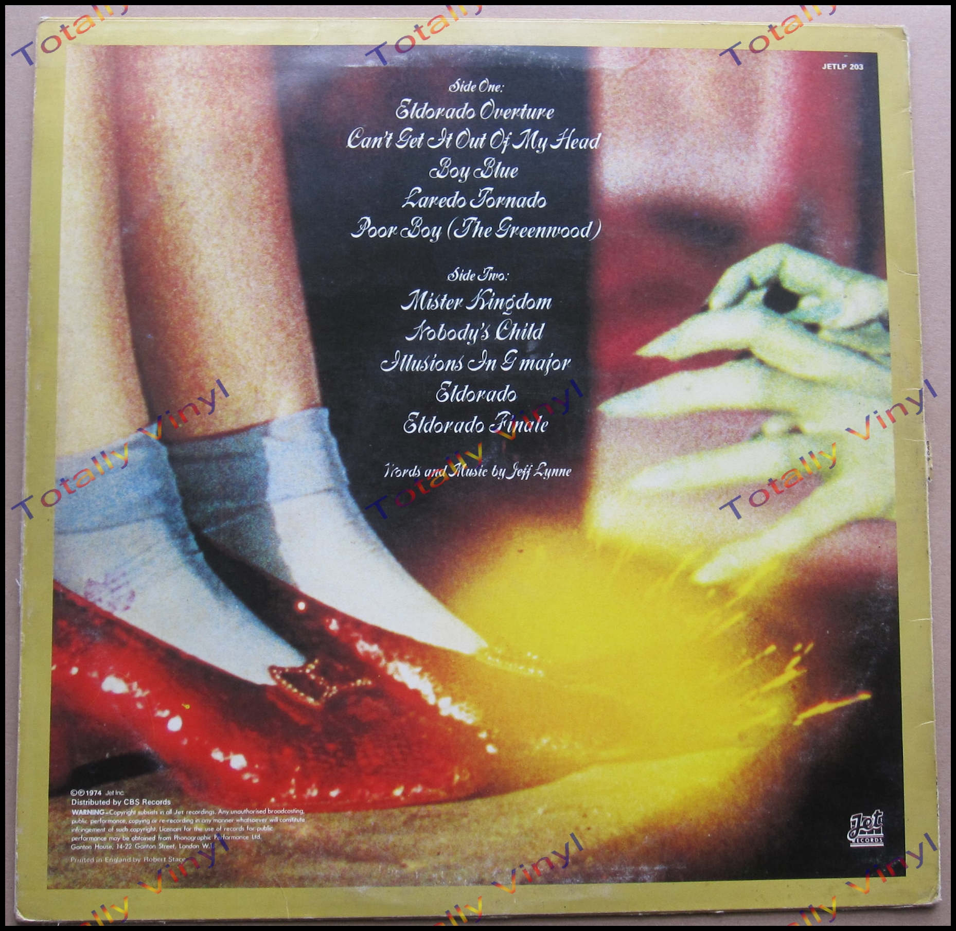 Totally Vinyl Records Electric Light Orchestra