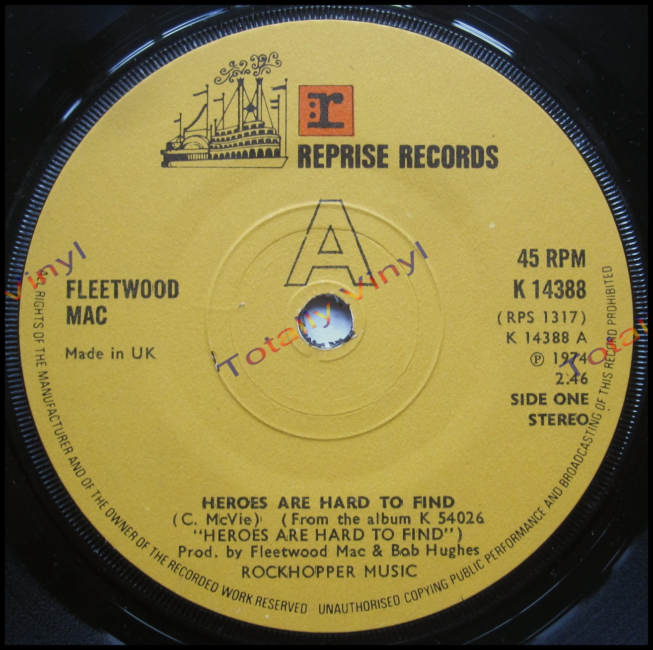 Totally Vinyl Records || Fleetwood Mac - Heroes are hard to find