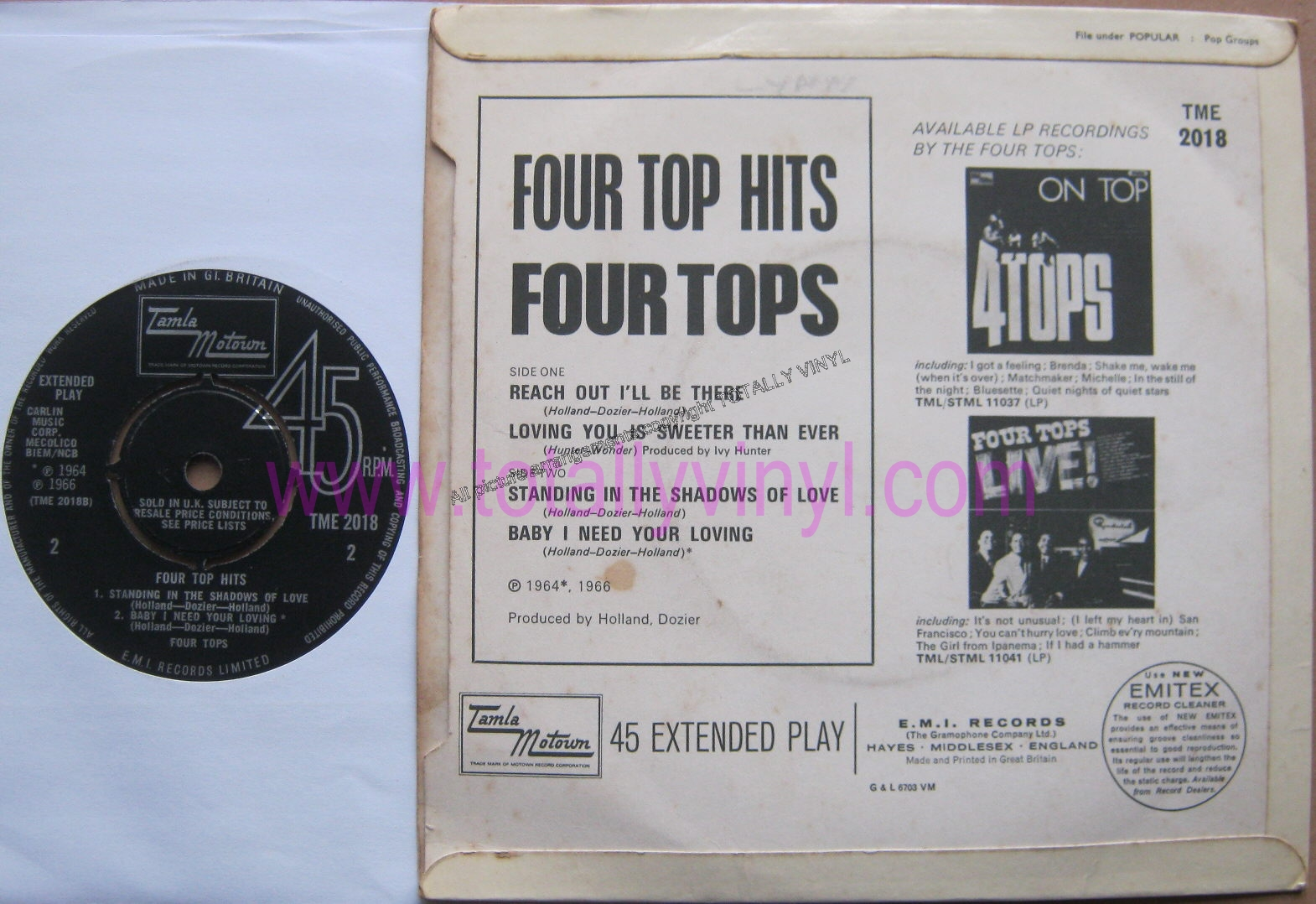 Download mp3 full flac album vinyl rip Loving You Is Sweeter Than Ever - The Four Tops* - Greatest Hits (Vinyl, LP)