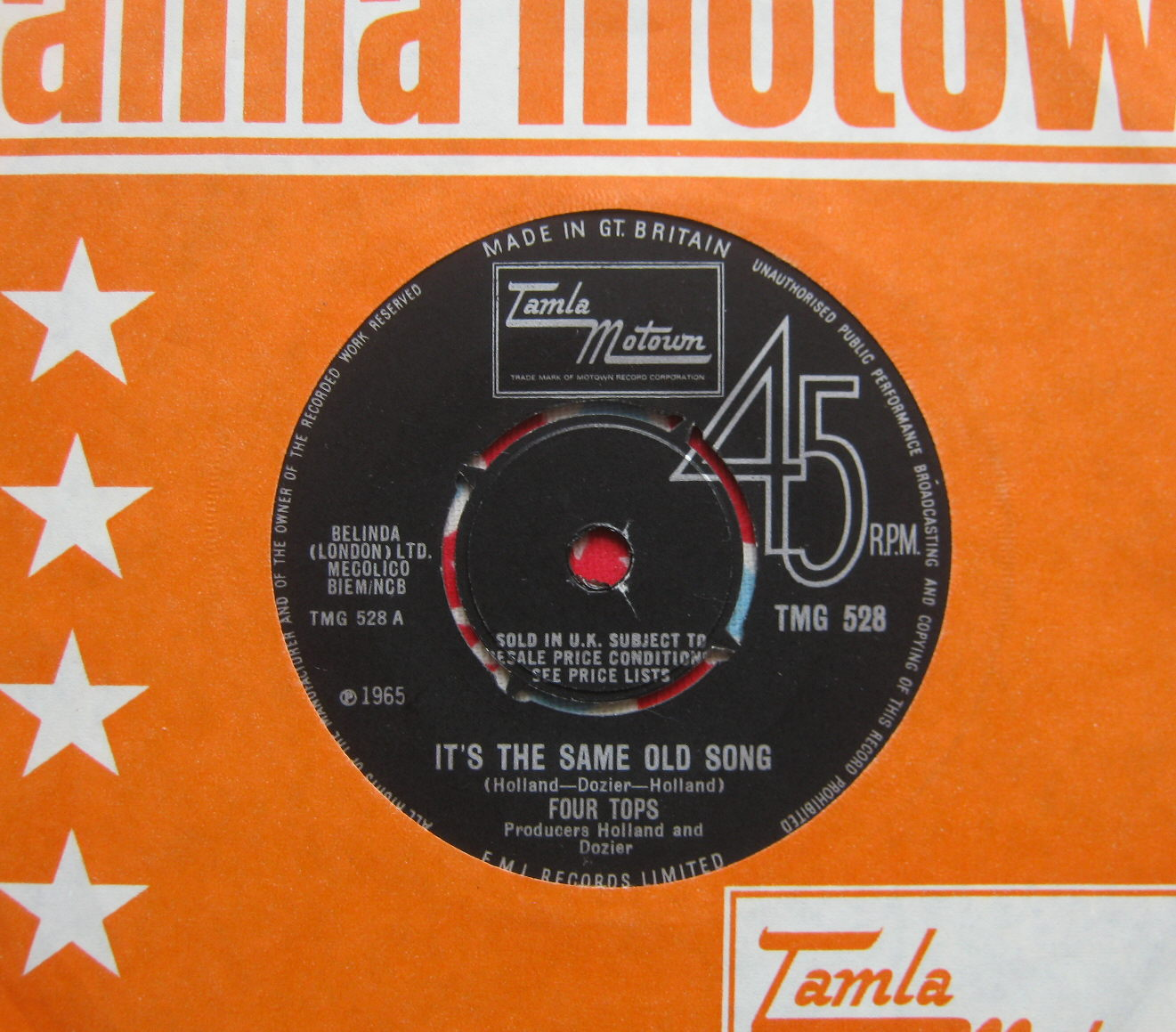 Totally Vinyl Records Four Tops The It S The Same