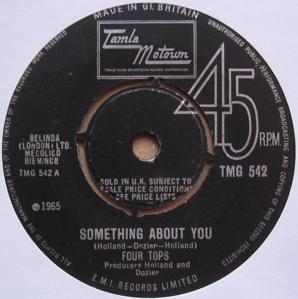 Totally Vinyl Records Four Tops The Something About