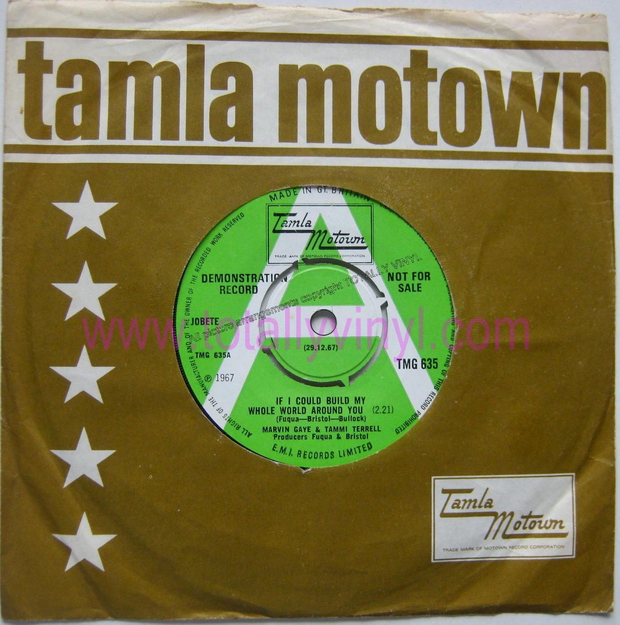 Totally Vinyl Records Gaye Amp Tammi Terrell Marvin If