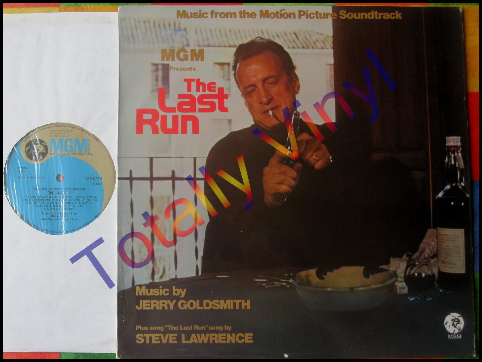 Totally Vinyl Records Goldsmith Jerry The Last Run