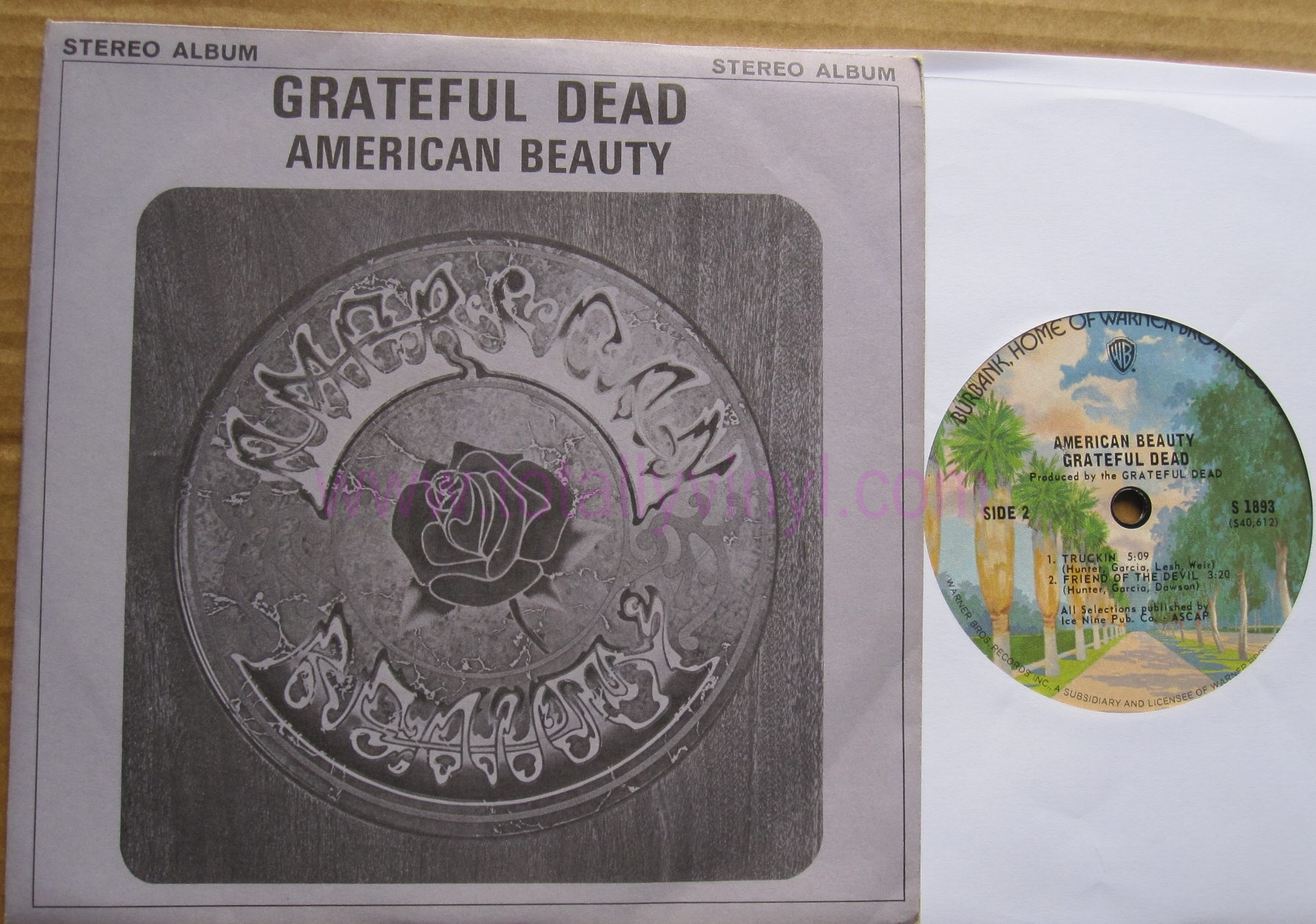Totally Vinyl Records Grateful Dead American Beauty