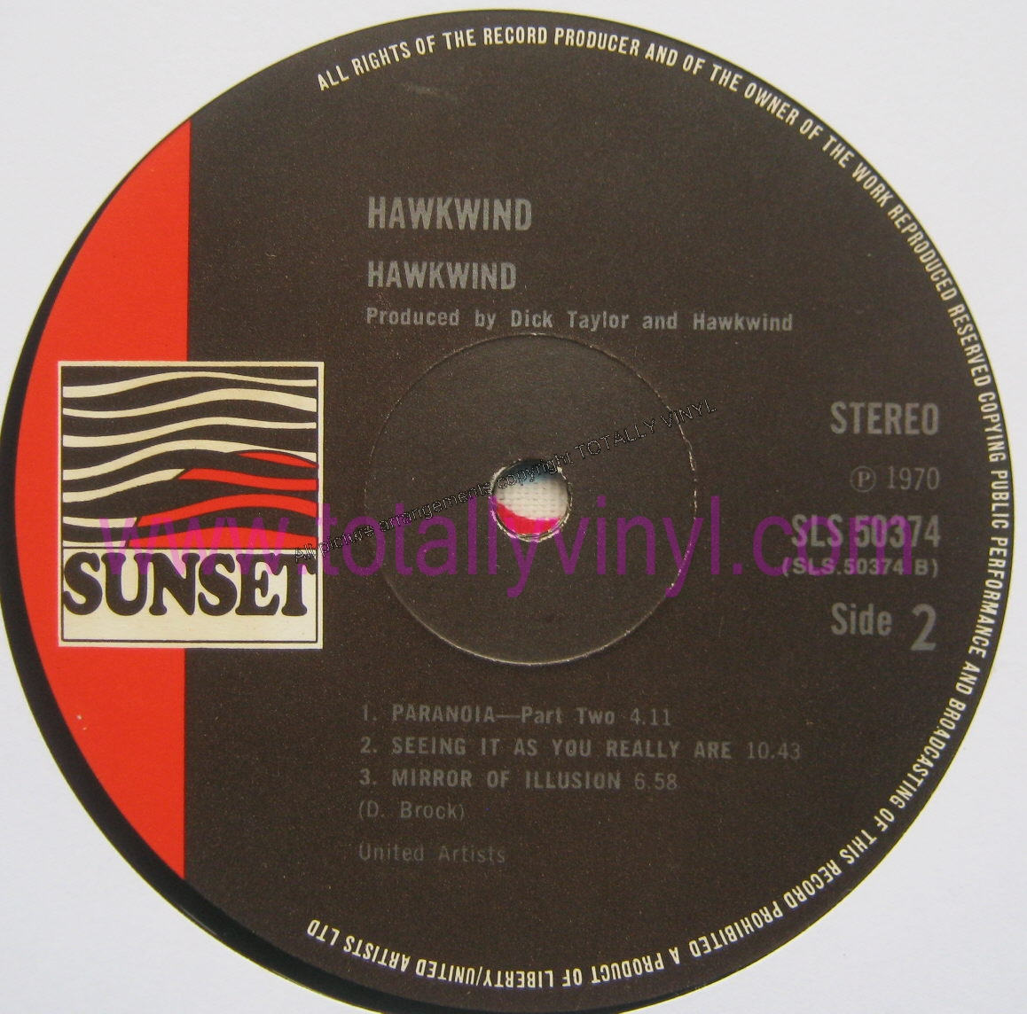 Totally Vinyl Records Hawkwind Hawkwind Autographed