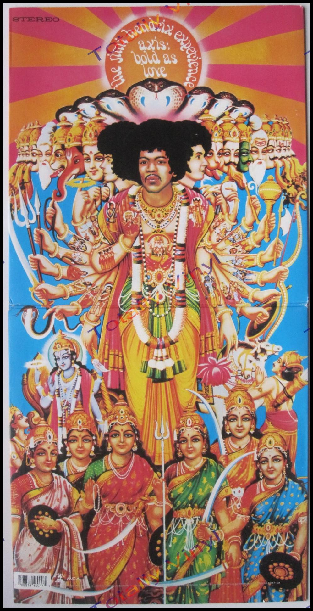 Totally Vinyl Records || Hendrix Experience, Jimi - Axis