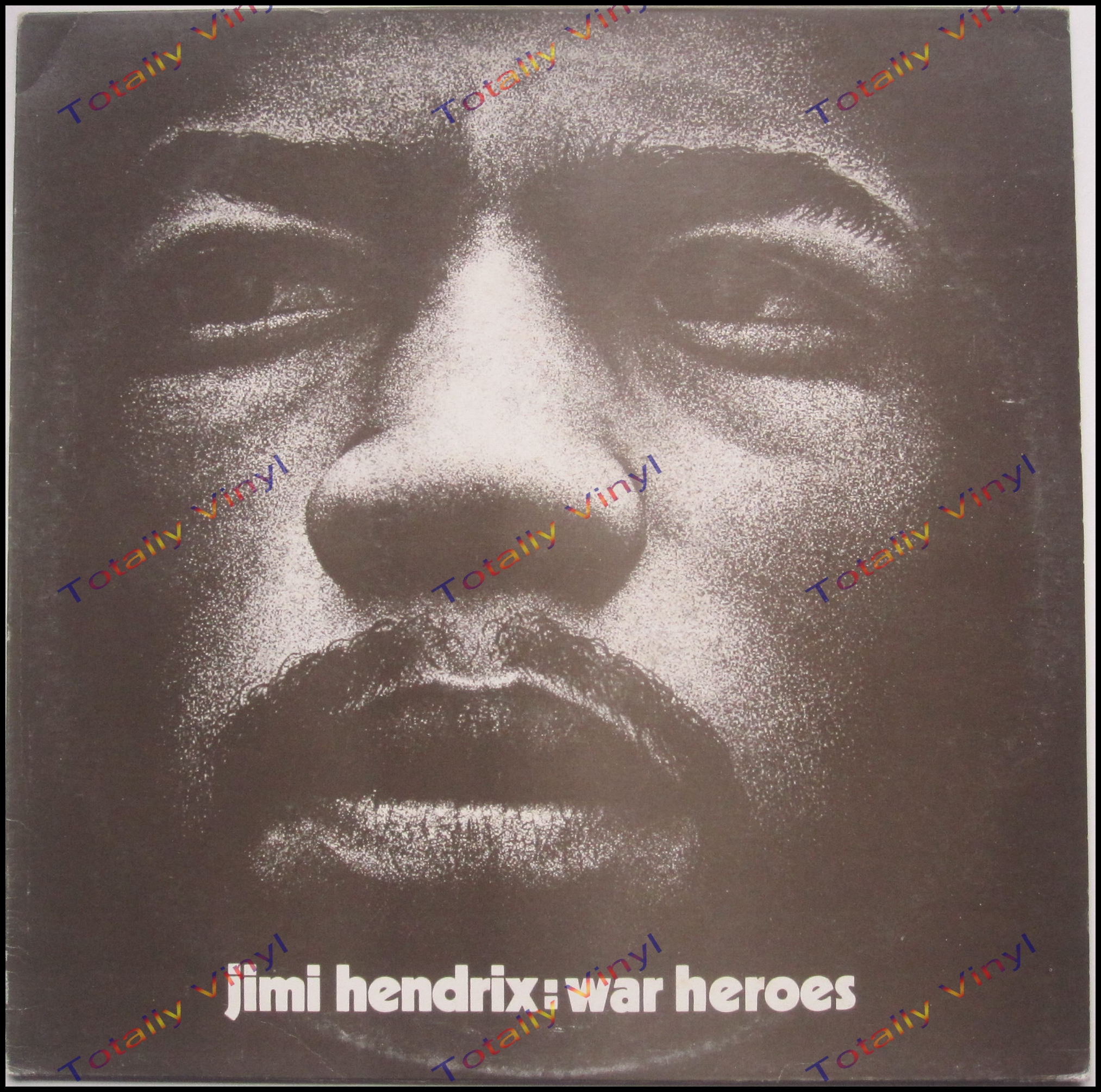 totally vinyl records hendrix jimi war heroes lp promotional issue. Black Bedroom Furniture Sets. Home Design Ideas