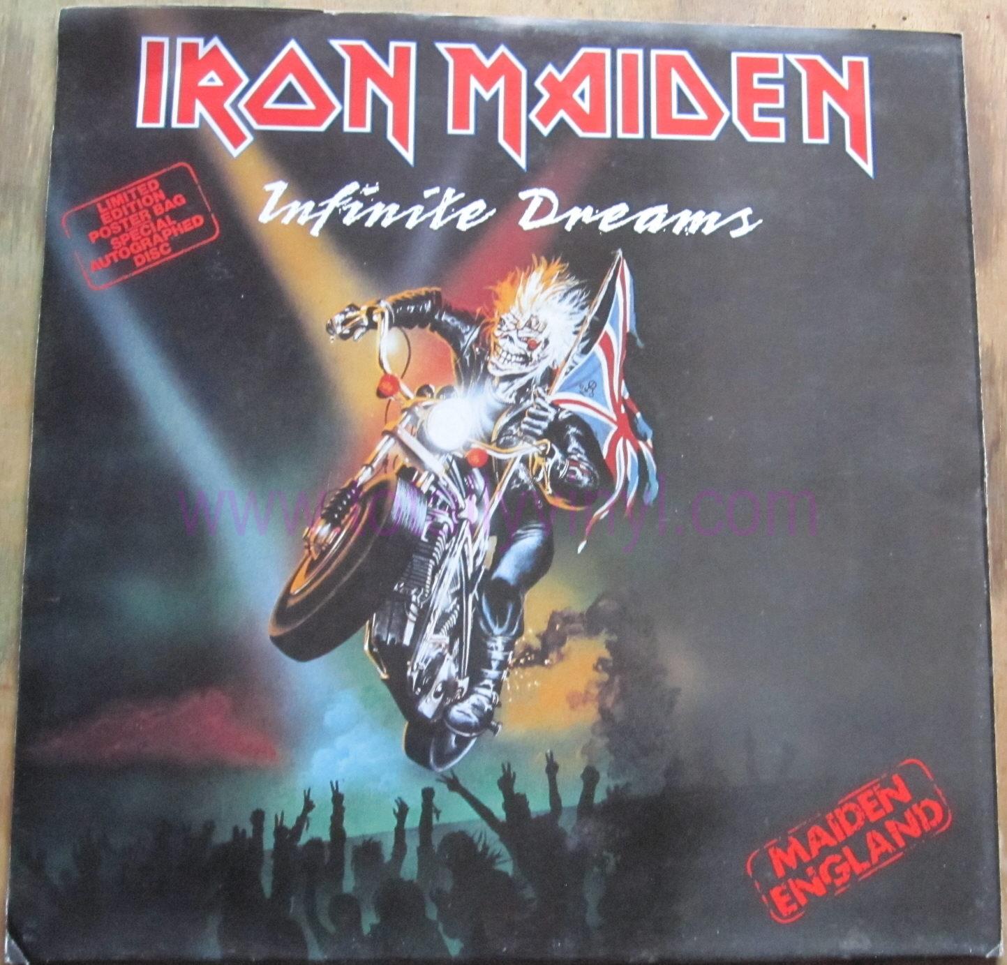 Totally Vinyl Records Iron Maiden Infinite Dreams