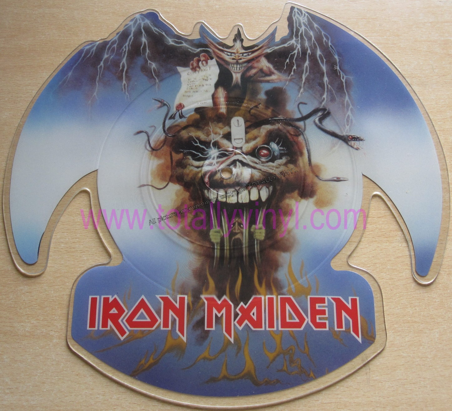 Totally Vinyl Records Iron Maiden The Evil That Men