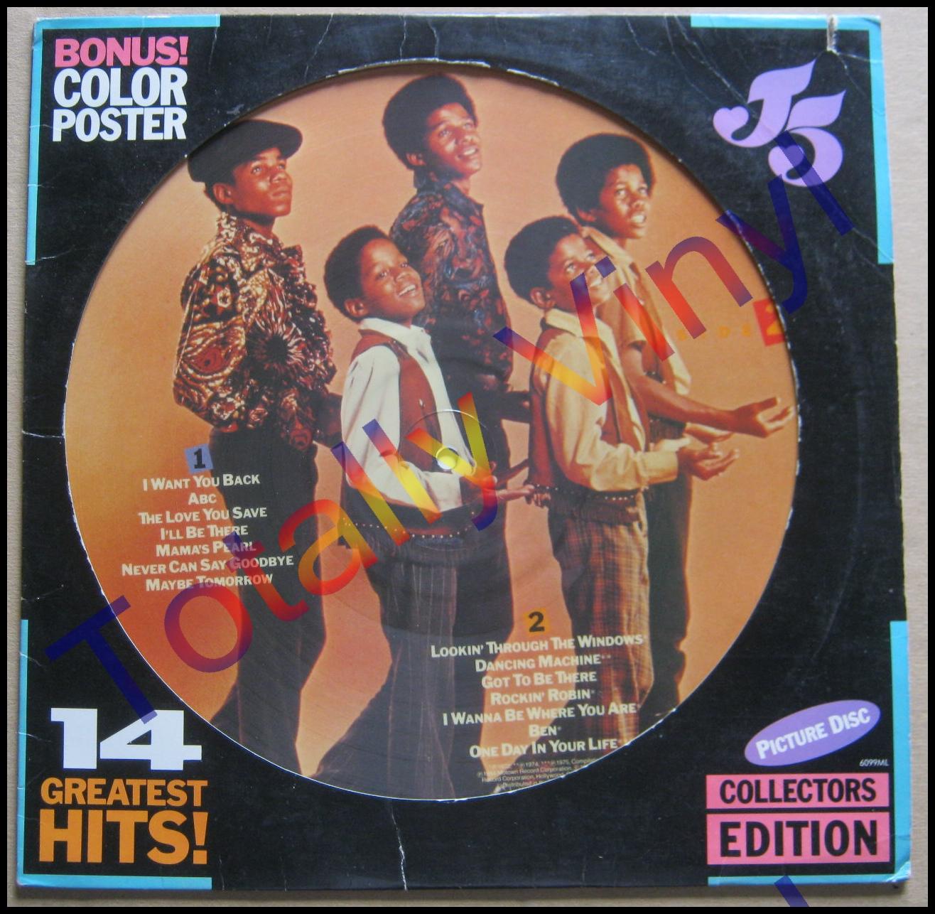 Totally Vinyl Records Jackson And The Jackson 5