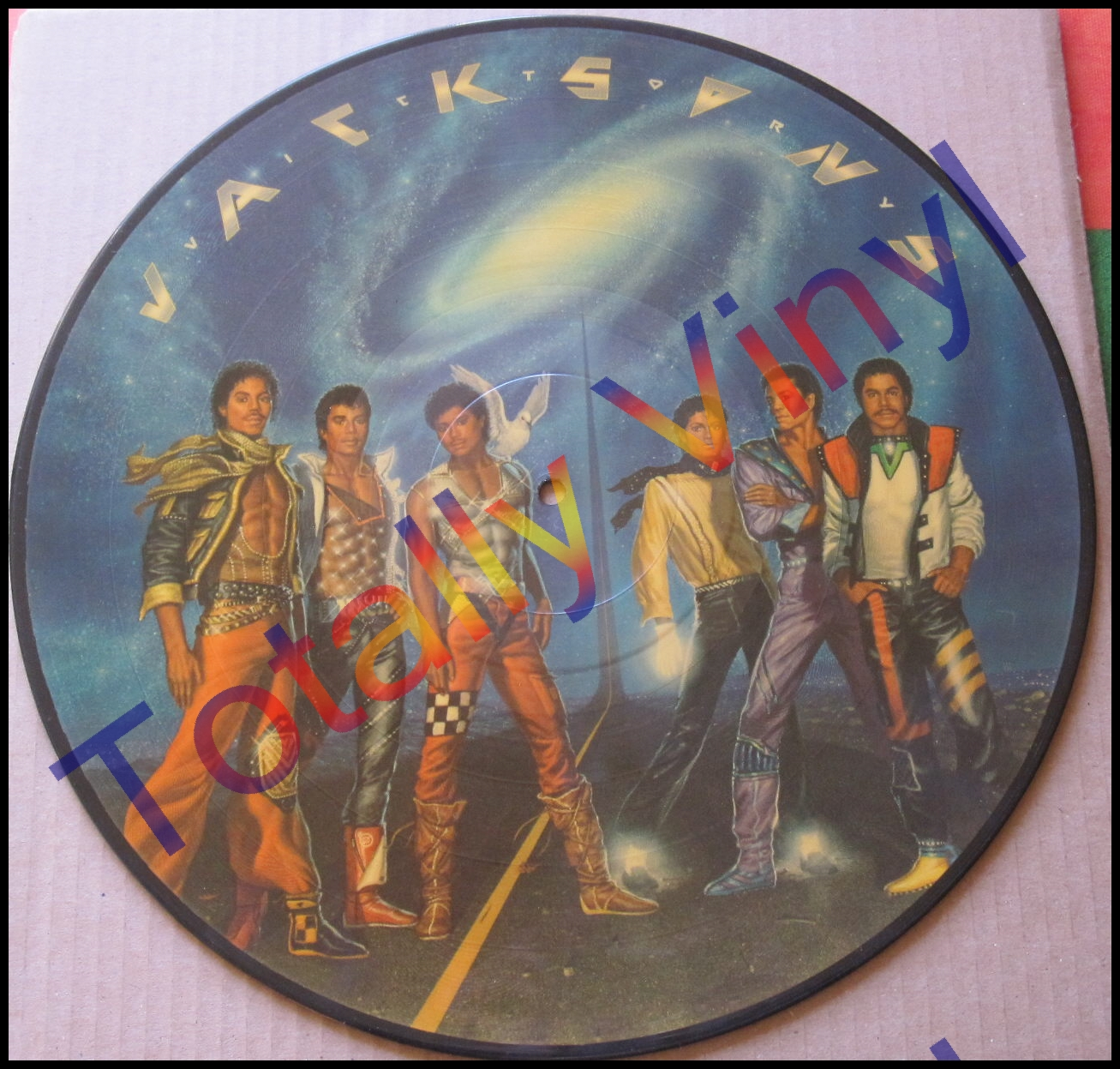 Totally Vinyl Records Jacksons Victory Lp Picture Disc