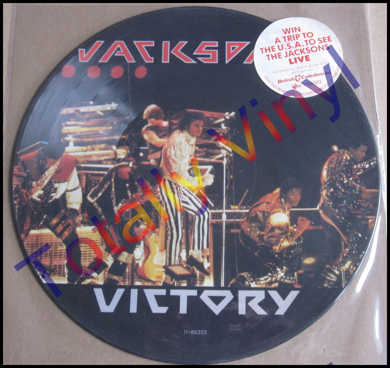 Totally Vinyl Records Jacksons The Victory Lp