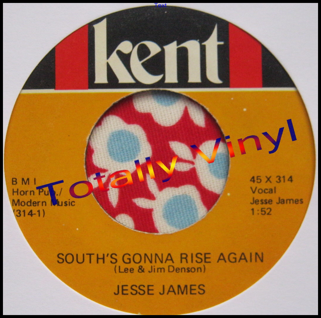 Jesse James - South's Gonna Rise Again / Red Hot Rockin Blues