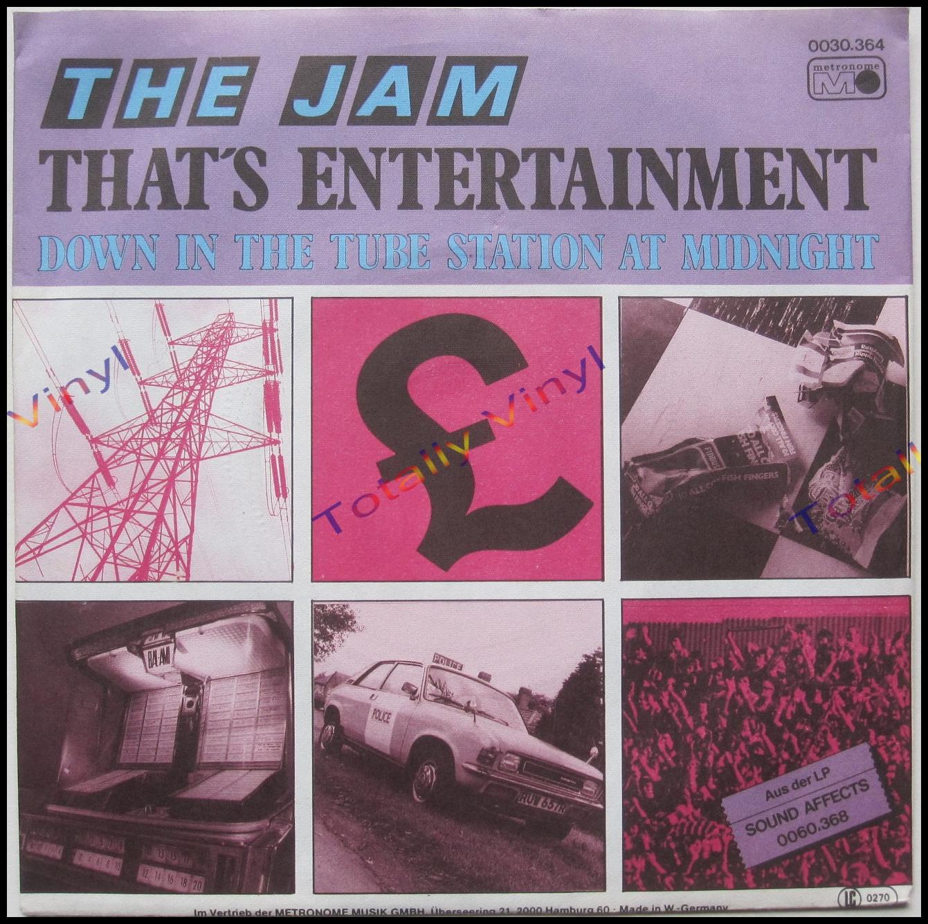 Totally Vinyl Records Jam The That S Entertainment