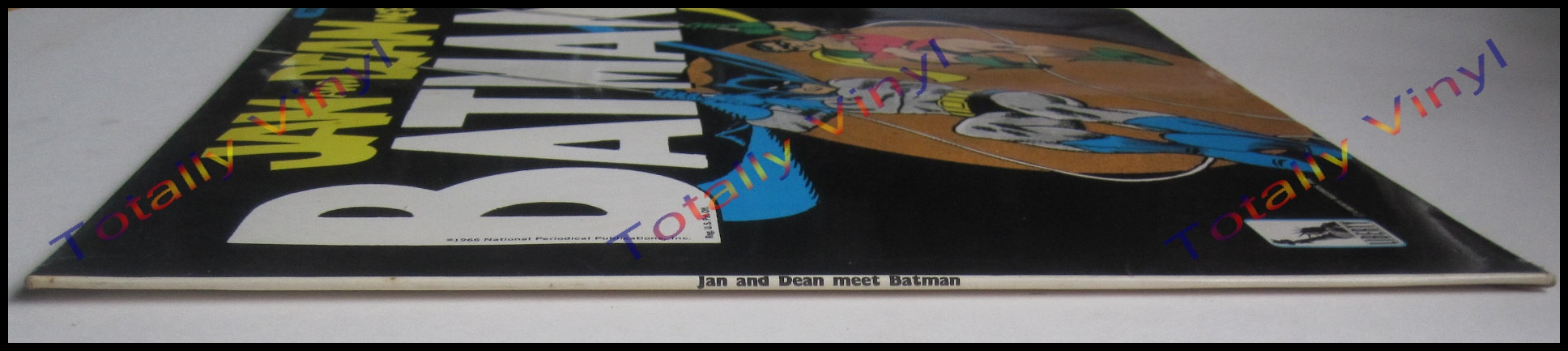 jan and dean meet batman vinyl sticker