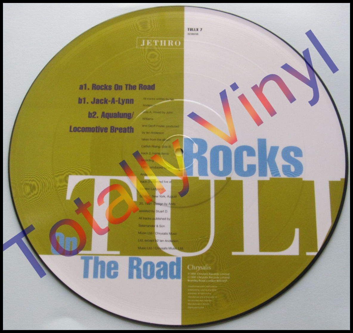 Totally Vinyl Records Jethro Tull Rocks On The Road
